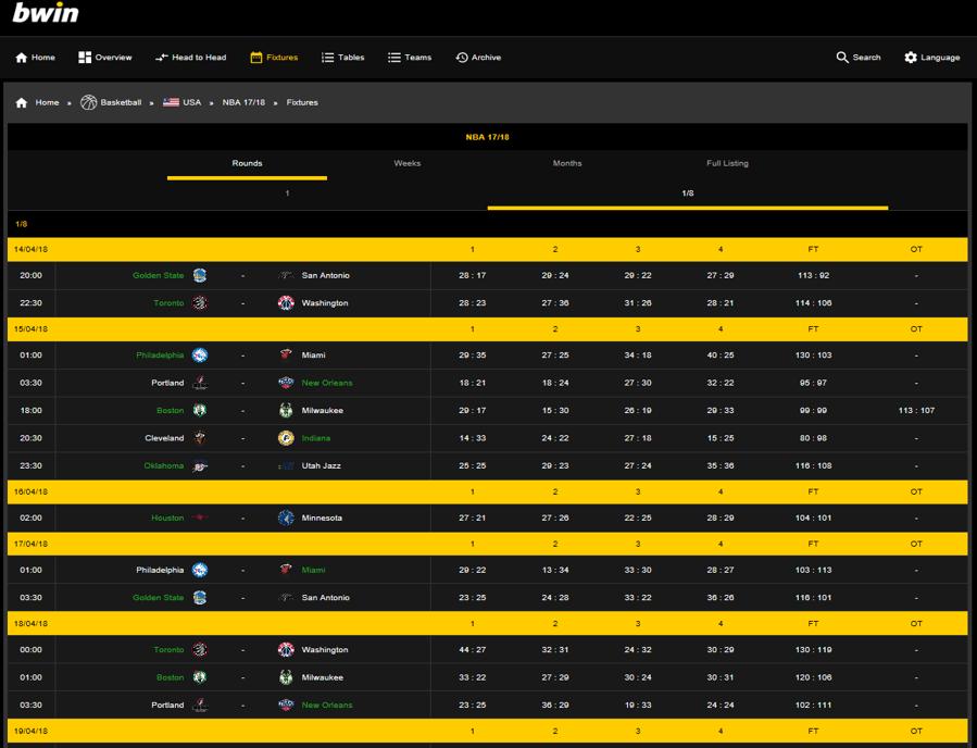 Statistics Centre - valuable sports data information - Betradar