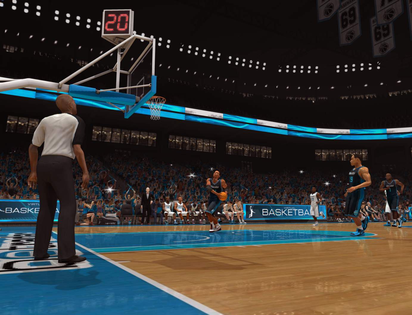 Betradar Virtual Basketball Jump